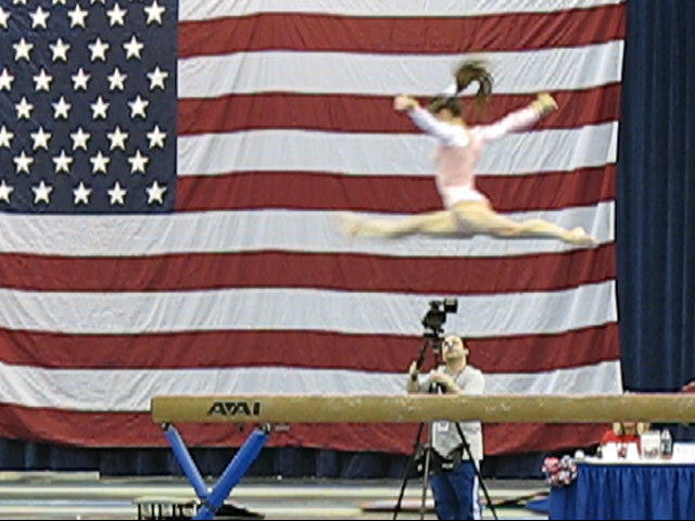 Level 9 Laura Kappler on Balance Beam